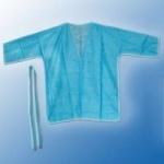 Халат кимоно с рукавами, одноразовый.