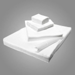 Салфетки спанлейс белые размер 20х20 100 шт.