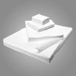 Салфетки спанлейс белые гладкие размер 7х10 100 шт.