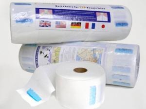 Парикмахерский воротник одноразовый бумажный туба 5 рулонов